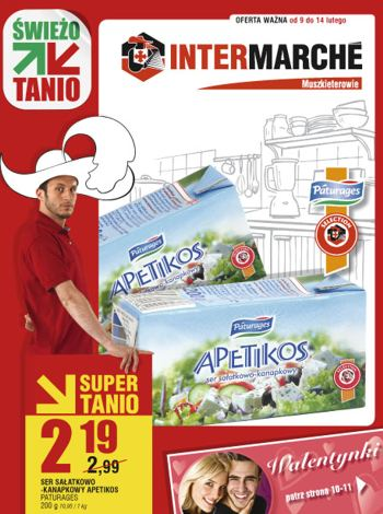Intermarche - gazetka do 14 lutego 2010