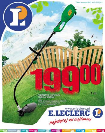 Gazetka E.Leclerc - oferta do 21 marca 2010