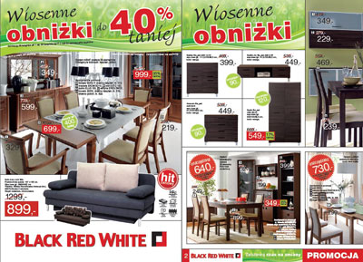 Black Red White - Wiosenne obniżki do 40% taniej